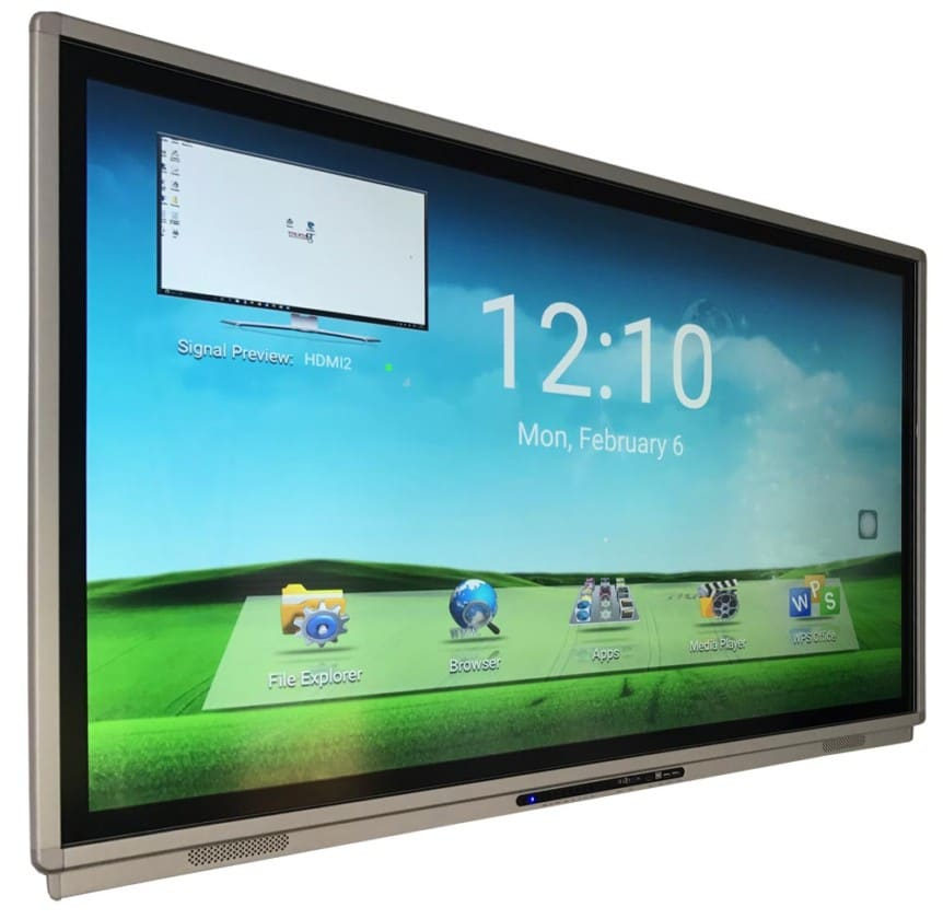 LED interactivo TouchIT